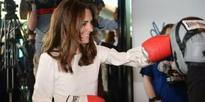 Kate Middleton Boxes for Charity in Most Royal Way Possible