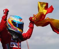 Spaniard Fernando Alonso rocked the Spanish grand prix