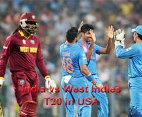 India vs West Indies T20 in US