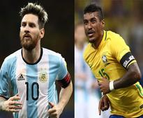 Brazil almost there, Messi-less Argentina crash