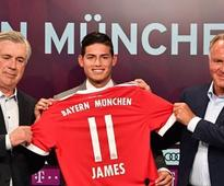 Bundesliga: Coach Carlo Ancelotti confident that James Rodriguez will shine at Bayern Munich