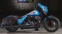 Marvel's comic hero customised Harley-Davidsons