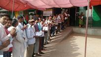 Voting for Delhi civic polls ends amid EVM glitches