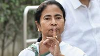 Mamata Banerjee's picture defaced inside Jadavpur University