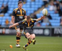 Wasps 39-12 Sale Sharks: Jimmy Gopperth scores 17 points as home side step up charge towards Premiership play-offs