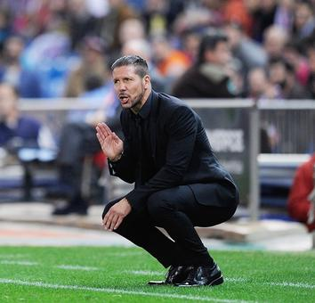 Simeone vows to stay on and improve Atletico de Madrid