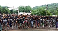 Cyclists go the extra mile in Odisha capital for a cause