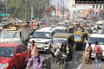 Gandhi Maidan Traffic One-way for Next Two Weeks