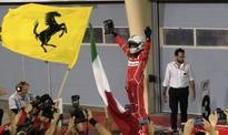 Vettel triumphs in Bahrain with Hamilton second