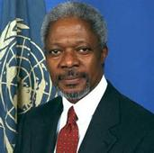 KOFI ANNAN CHAIRS COUNCIL  OF  ELDERS