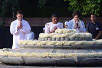 Gandhi family, political dignitaries pay tribute on Rajiv Gandhi's 75th birth anniversary