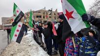 Solidarity rally in Victoria Park calls for peace in Aleppo