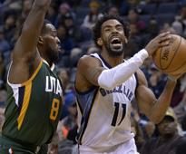NBA roundup: Mike Conley lifts Grizzlies to win; Warriors defeat Kings