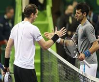 Despite loss to Djokovic in Doha, Andy Murray gains ground in rankings