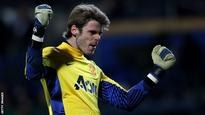 De Gea in Spain Under-21 squad