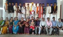 Traditional dress show held at Bhatkal's Guru Sudhindra college.