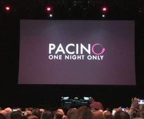 A One Night Only date with Al Pacino