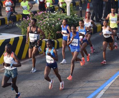 Double delight for Ethiopia but elite runners slam Mumbai marathon