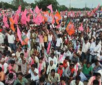 Telangana ministers urge Andhra CM to give permission for march