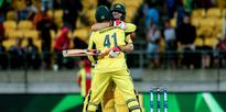 Cricket: Record stand helps Aussie home