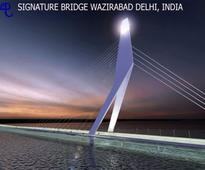 Delhi's iconic Signature Bridge to be ready in 2014