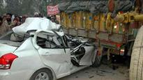 Four persons from Mumbai killed in car accident in Pune