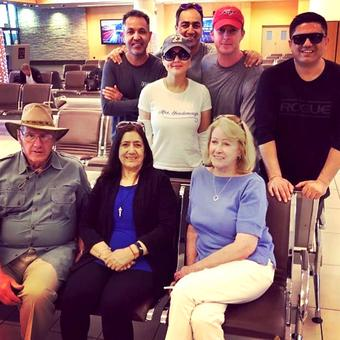 PIX: Preity Zinta's South African holiday