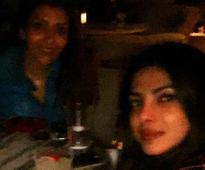 Pic: Priyanka Chopra's girls night out with Prince Harry's girlfriend Meghan Markle