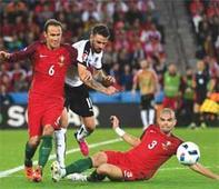 Ronaldo's Portugal suffer heartbreak