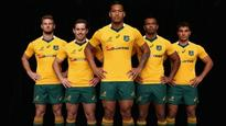 New Wallabies jersey for 2016 international season unveiled in Sydney