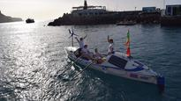 UK Rowers Saved After Boat Capsizes In Atlantic
