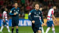 Real Madrid keep pace in La Liga title race after Modric's wondrous winner