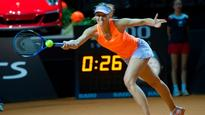 Maria Sharapova storms into Stuttgart semifinal after return from ban