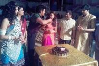 Richa celebrates birthday with Nagarjuna