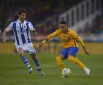 Barca beaten again at Sociedad, Atletico, Real apply pressure