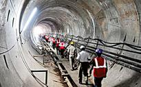 Bengaluru: Rocked by the rocks,  Metro 1 not so fast!