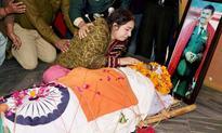 Tearful but proud daughter salutes braveheart Col MN Rai
