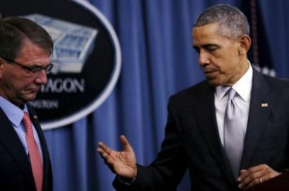 Obama reviews anti ISS strategy sends Carter to Middle East