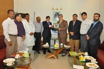 DG Operation EOBI South Syed Iqbal Haider Zaidi visit KCCI