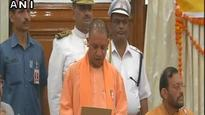 Uttar Pradesh Chief Minister Yogi Adityanath, deputy CMs take oath as MLCs