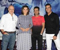 Team Naam Shabana`s interaction with media in Delhi
