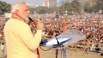 Flyover mishap god's message to save Bengal from Trinamool: Modi