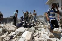 Syria regime, Russian planes pound rebel areas near Aleppo, kill scores