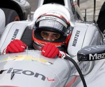 Juan Pablo Montoya on his Indy trash bag adventure: 'That was scary'