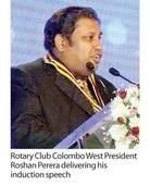 Rotary Club of Colombo West inducts 56th President ...