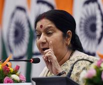 Swaraj asks embassy in Riyadh to keep her informed on Indian jailed in Saudi