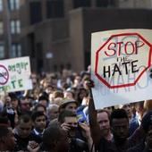 Multiple attacks on gay men in hours after hate-crime protest