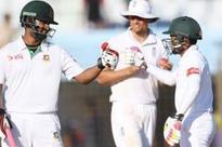 Bangladesh eye lead after Tamim 78