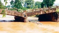 National Highway 49 traffic paralysed as bridge caves in Bengasua Nullah