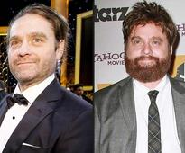 Hangover star Zach Galifianakis slims down, sports man bun